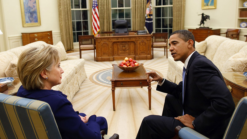Clinton has insider status and a track record of delivery - but are the results radical enough for the climate crisis facing the world? (Pic: White House/Flickr)