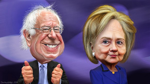 Diverging views: Sanders and Clinton on climate change