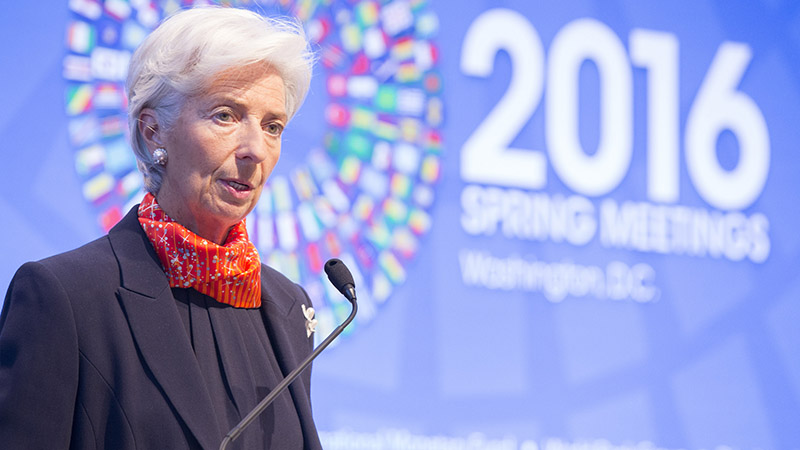 IMF managing director Christine Lagarde (Pic: IMF/Flickr)