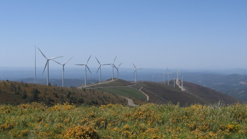 Portugal has a growing wind power sector (Pic: Wikimedia commons/CorreiaPM)