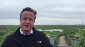 Vote Bremain for the climate, says David Cameron
