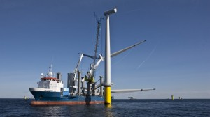 Offshore wind costs hit record low