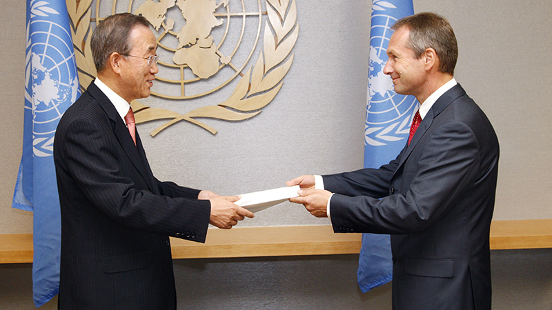 Until recently Csaba Korösi was permanent representative of Hungary to the UN (Pic: UN Photos)