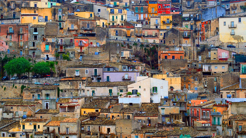 High density housing in Sicily, Italy (Pic: Pixabay)