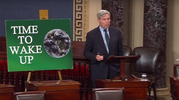 'Web of climate denial' infects US Congress, claims senator