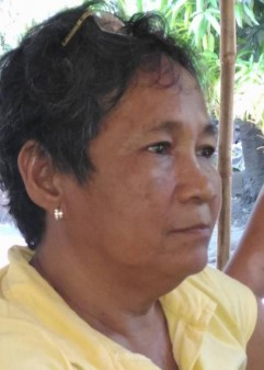 Gloria Capitan was a vocal anti-coal campaigner (Pic: Facebook/Menchie Flores)