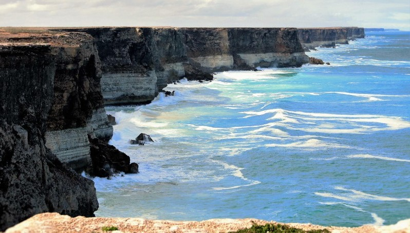 The Great Australian Bight. Photo: Alan & Flora Botting/Flickr