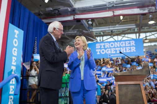 Clinton pulled climate from speeches after Sanders endorsement