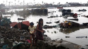 Slums boom in Philippines typhoon danger zones