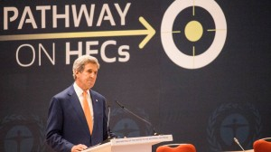 John Kerry urges ambition as HFC talks go into extra time