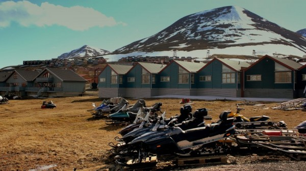 Melting Arctic: 'It's a very different Svalbard'