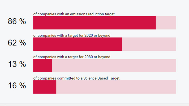 Of 112 consumer discretionary companies surveyed by CDP, few are engaging with the Paris climate agreement (Pic: CDP)