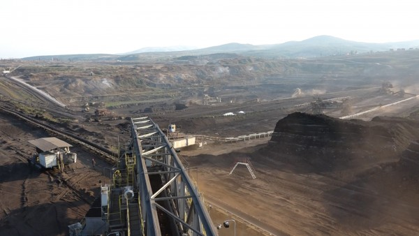 Sibovc has a lignite reserve of roughly one billion tonnes, one of the largest in Europe. Photo: Kallxo TV