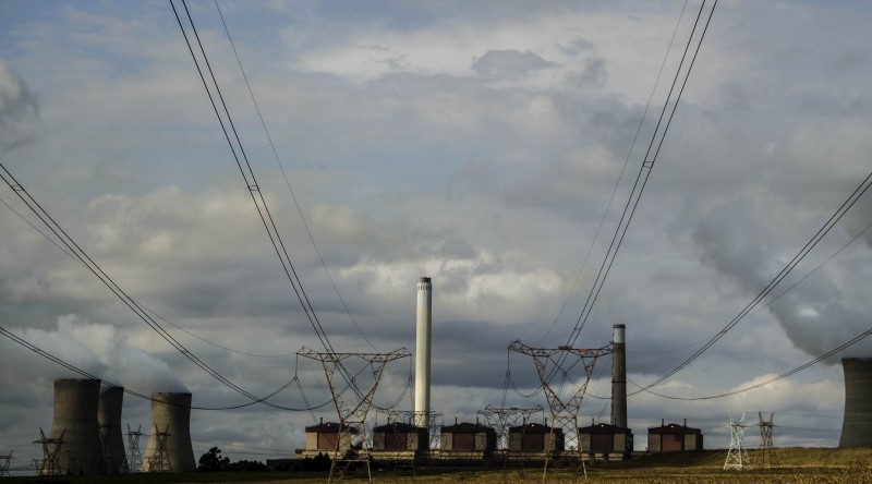 16 April 2014 - Kriel, Mpumalanga. Kriel, a small town in the Nkangala district, is located just outside of Eskom's Kriel Power Station and several coal mines. The town is geographically located in close proximity to a dozen coal power stations. 2014/04/16 (Photo: Styler Reid)