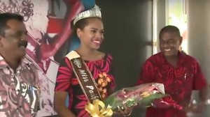 Fiji appoints beauty queen as climate ambassador