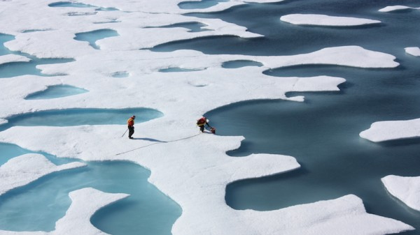 Global sea ice at lowest area ever recorded