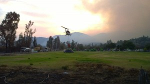 National emergency as Chile fights record forest fires
