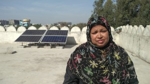 Women's mosque goes solar in India clean energy push