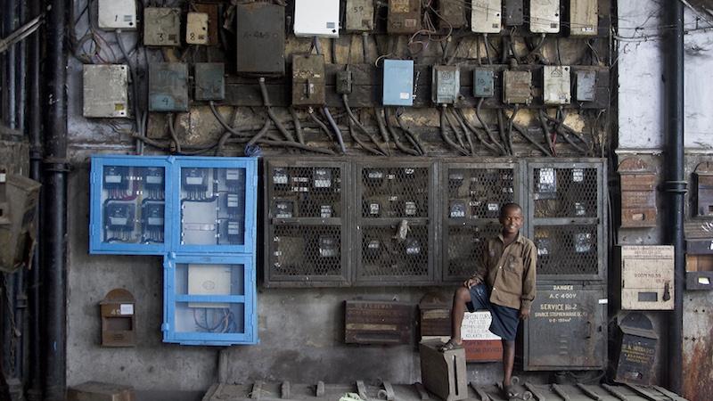 Energy meters in Kolkata, India. (Photo: Jorge Royan)