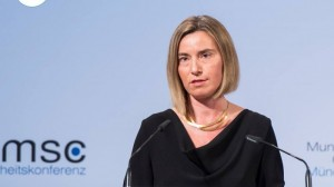 Mogherini to Mattis in Munich: climate investments boost security