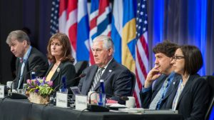 US endorses global action to curb greenhouse gases at Arctic summit