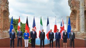 G7 split as leaders issue climate statement without US