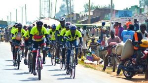 Cycle tour of Kenya promotes clean energy democracy