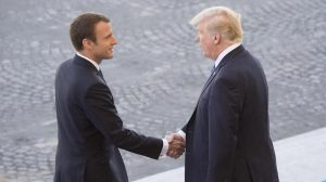 Macron: France will replace US funding for UN climate science