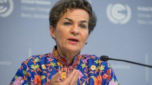 Former UN climate chief lobbies against $1bn loan to Australian coal train