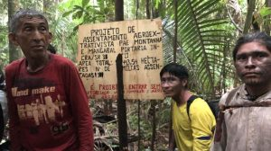 Will these hand-painted signs be enough to stop a dam in the Amazon?