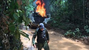 Bolsonaro has made grim threats to the Amazon and its people