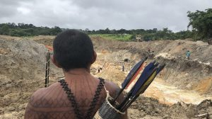 A gold mine swallowed their village. This Amazon tribe is here to take it back