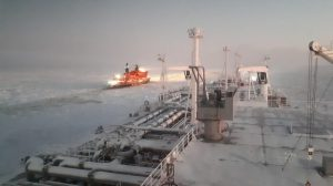 Timelapse video: shipping first as LNG tanker crosses Arctic in winter without icebreaker escort