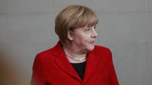 Angela Merkel criticises EIB decision to ban gas lending