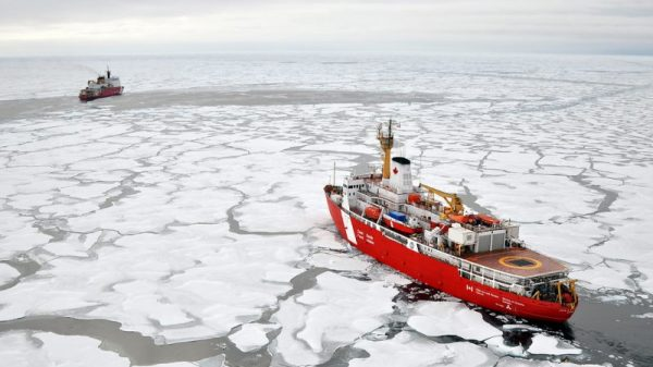 US breaks from Arctic consensus on climate change