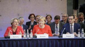 Merkel: Auto and coal workers need to know what their next jobs are