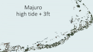 Graphics of Marshall Islands sea level rise 'brought EU ministers to tears'