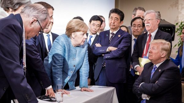 G6 leaders advance climate agenda while Trump's US defends fossil fuels