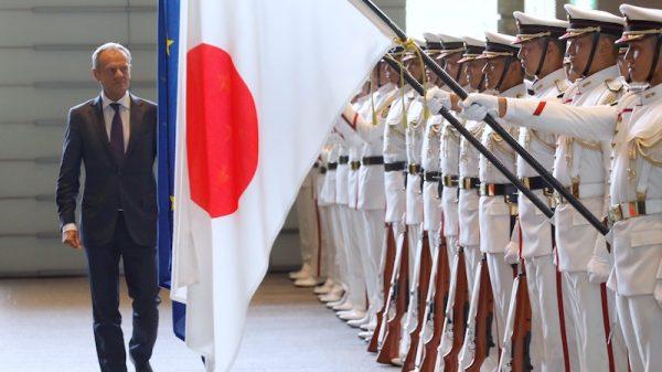 EU-Japan trade deal first to carry Paris climate clause