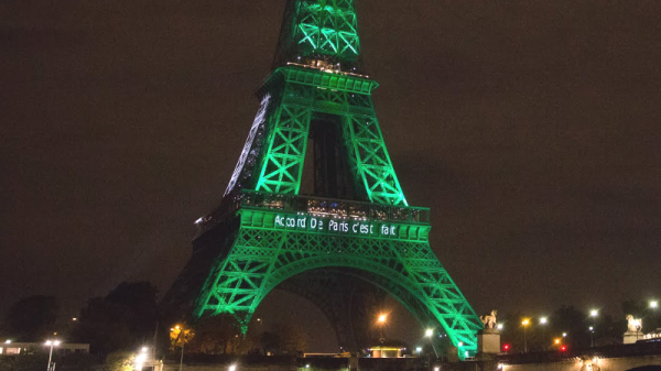 Which countries have not ratified the Paris climate agreement?