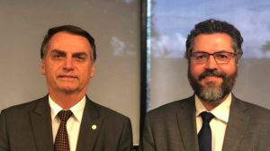 Bolsonaro names climate denier as Brazil's foreign minister