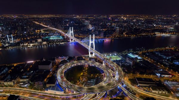 Connected LED lighting gives Shanghai's skyline an eco-friendly facelift
