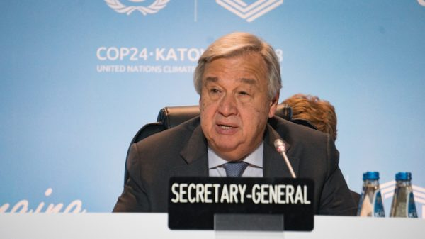 Step up on climate or choose 'immoral, suicidal' path, says UN chief