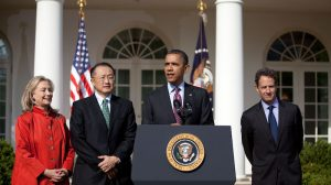 Departing World Bank chief leaves climate job unfinished