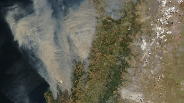 Chile issues 2019 wildfire warning amid heat forecasts