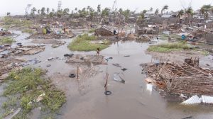 Mozambique 'faces climate debt trap' as Cyclone Kenneth follows Idai