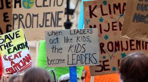 Why school strikers are guest editing Climate Home News