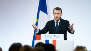 Asset managers worth $15 trillion make climate risk promise to Macron