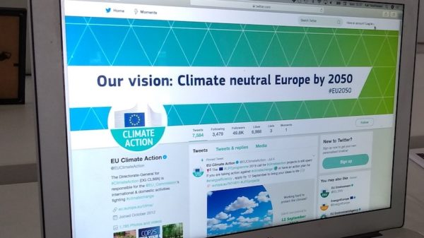 Non-Green MEPs largely ignore climate on Twitter