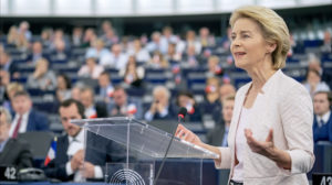 Climate a 'signature issue' as Ursula von der Leyen anointed EU chief